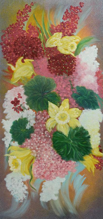 Spring Flower Bouquet by Douglas Ann Slusher