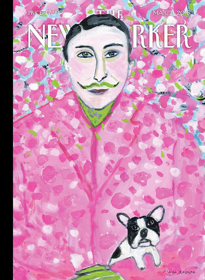 Spring Forward Painting by Maira Kalman