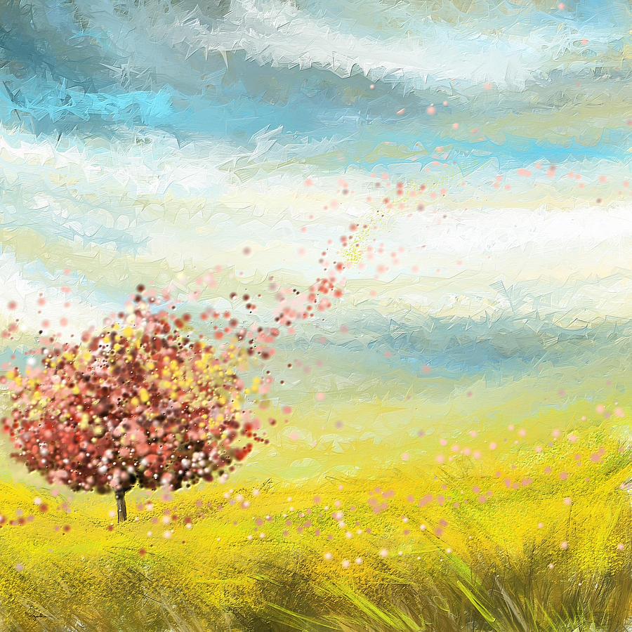 Four Seasons Paintings | Fine Art America