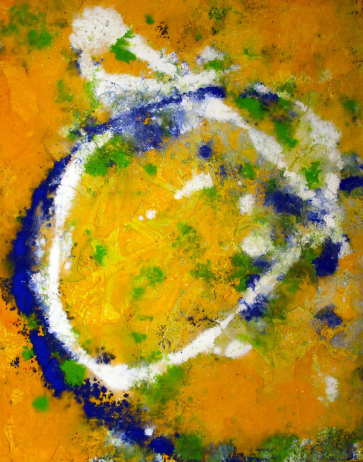 Abstract Mixed Media - Spring Has Sprung by Betsy Jones