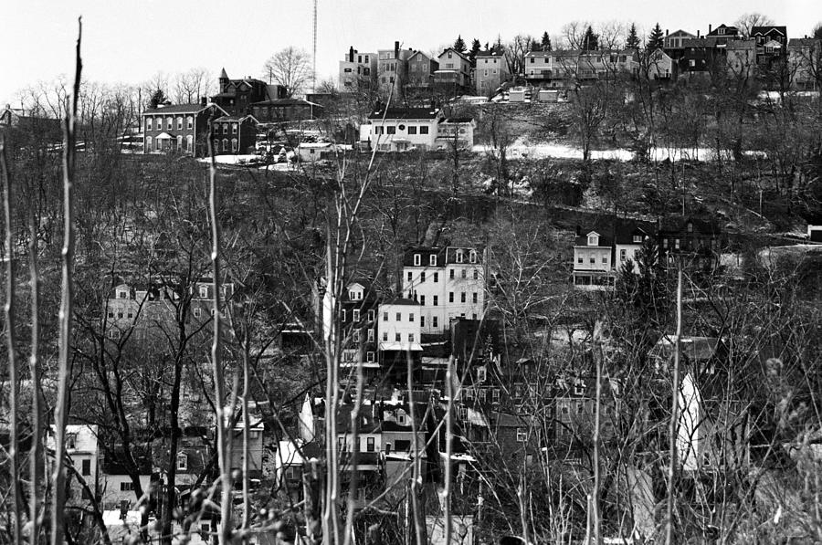 Pittsburgh Photograph - Spring Hill From Troy Hill In Pittsburgh by Eric Miller