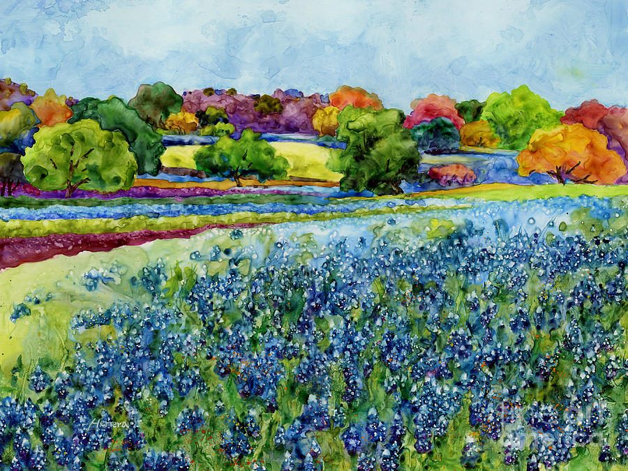 Spring Impressions Painting