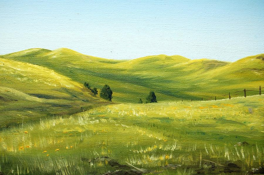 Plein Air Painting - Spring In California by AnnaJo Vahle