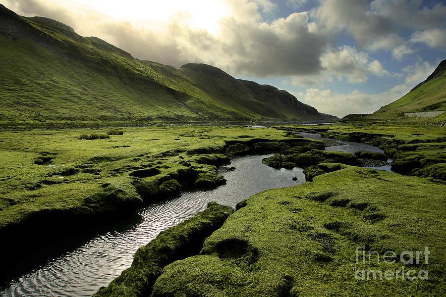 Adventure Photograph - Spring In Scotland Valley by Matt Tilghman
