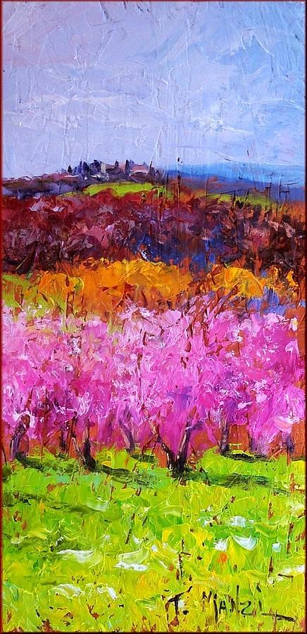 Tuscany Painting - Spring In Tuscany by Tommaso Manzi