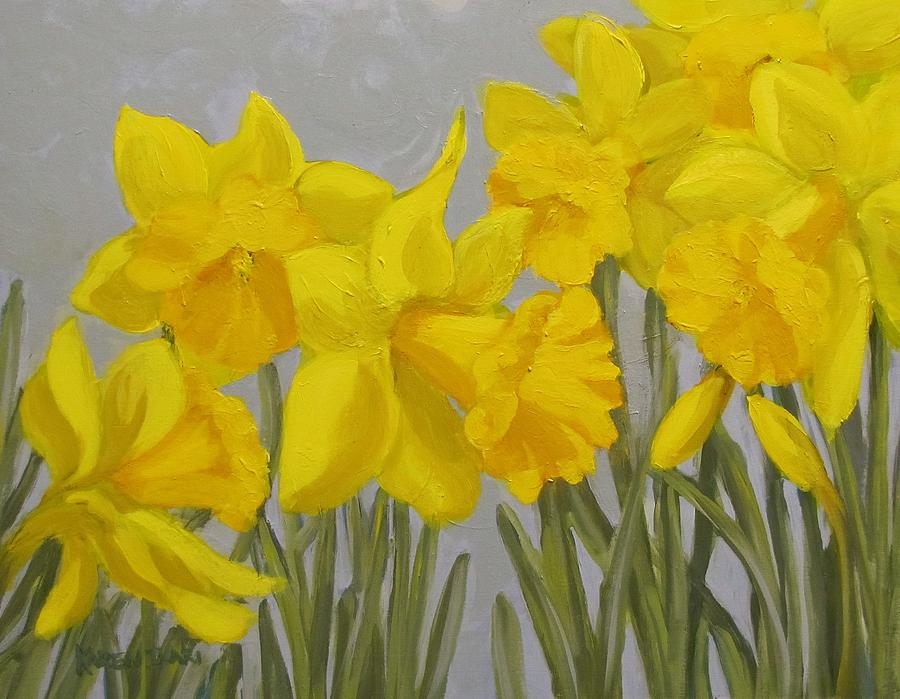 Flowers Painting - Spring by Karen Ilari