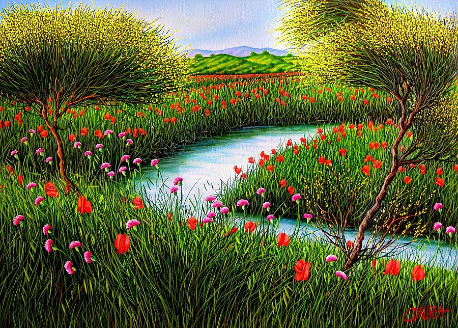 Spring Paintings By Famous Artists