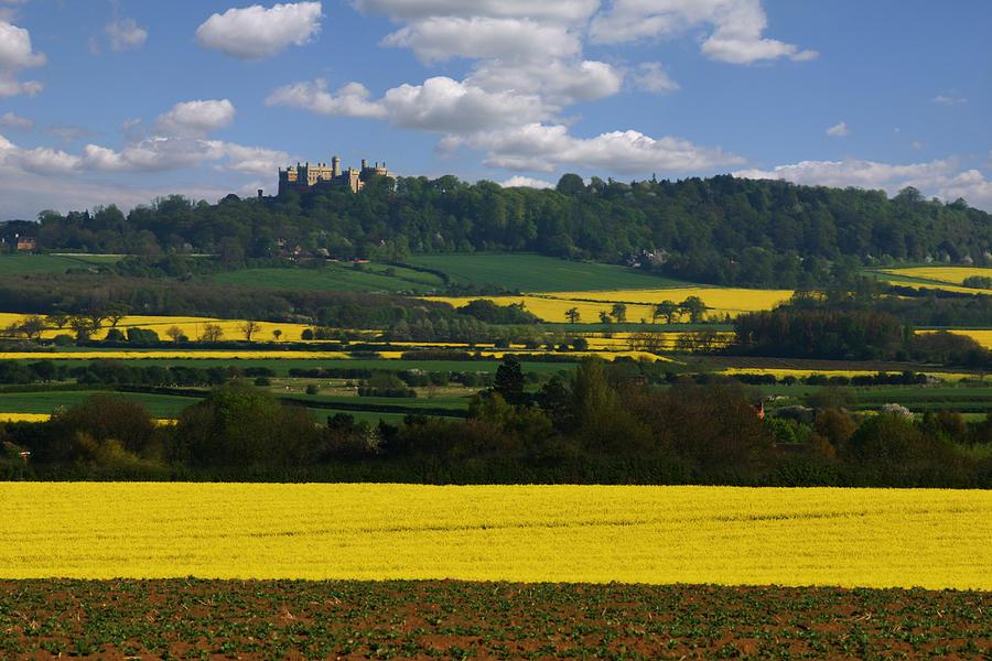 Rural Photograph - Spring Landscape by Gillian Dernie
