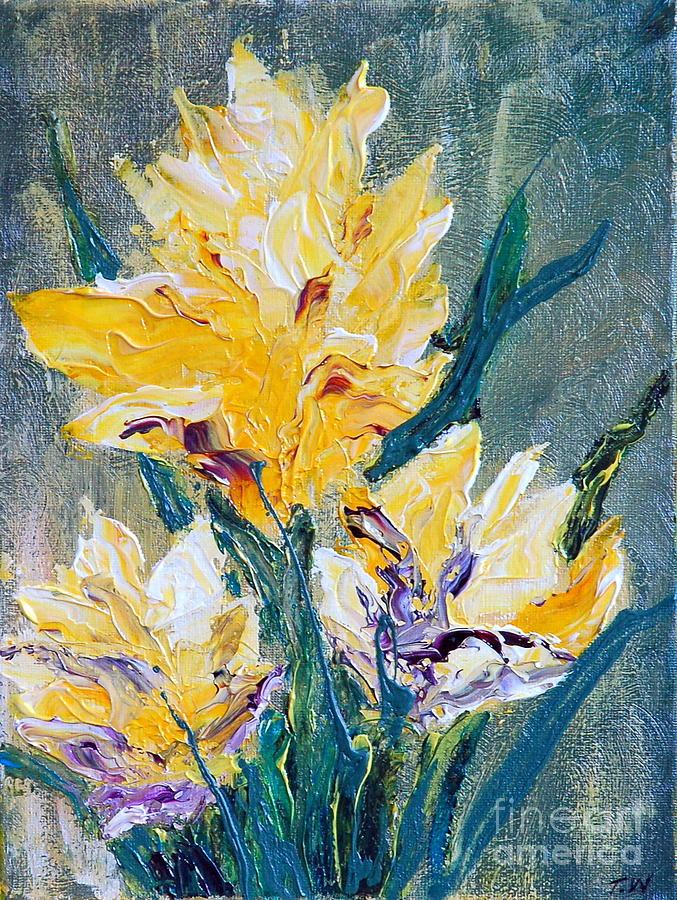 Floral Painting - Spring Love by Teresa Wegrzyn
