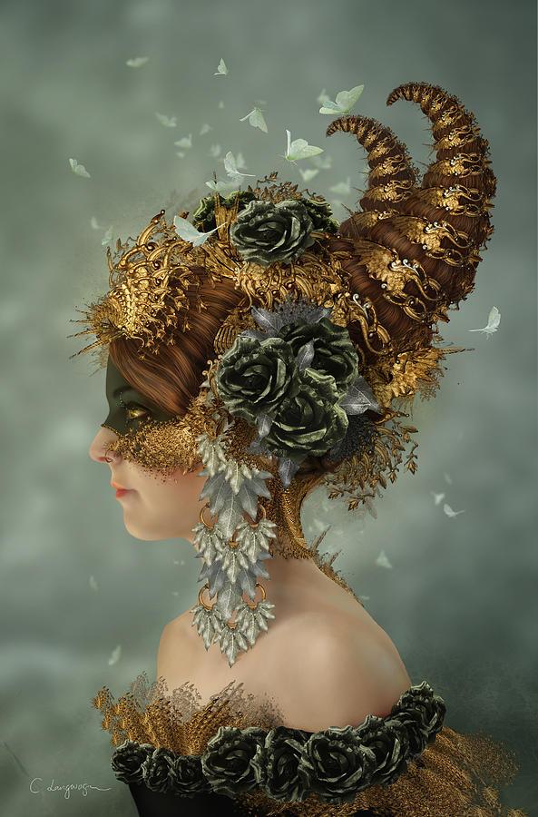 Spring Masquerade by Cassiopeia Art
