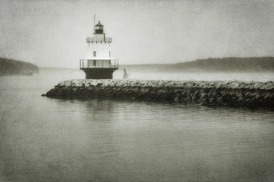 Bay Photograph - Spring Point Ledge Light by Joan Carroll