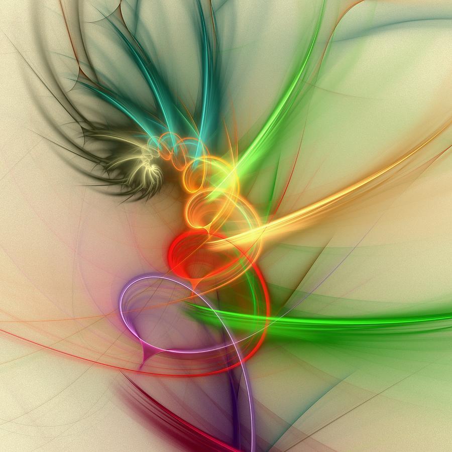 Computer Digital Art - Spring Power by Anastasiya Malakhova