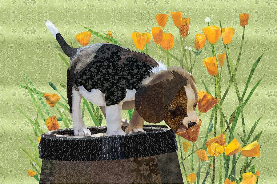 Spring Pup by Robin Morgan
