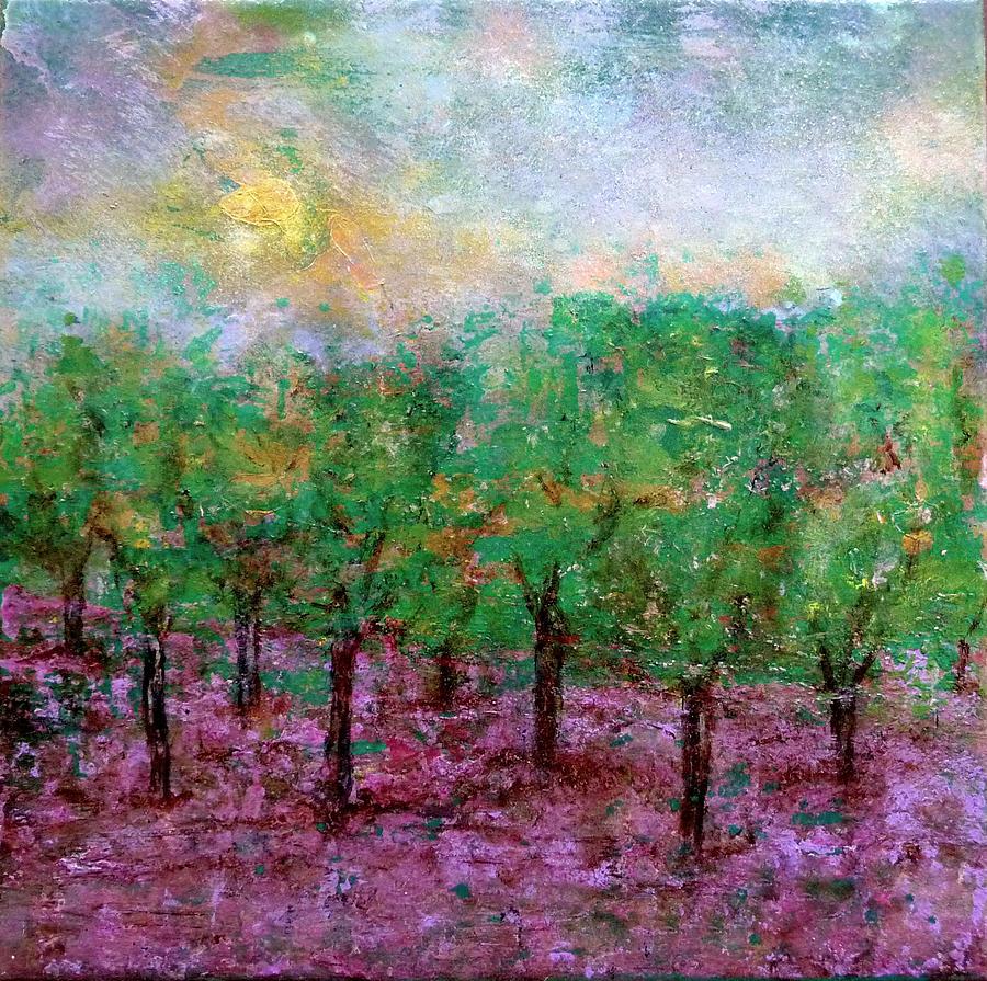 Spring Rain Painting