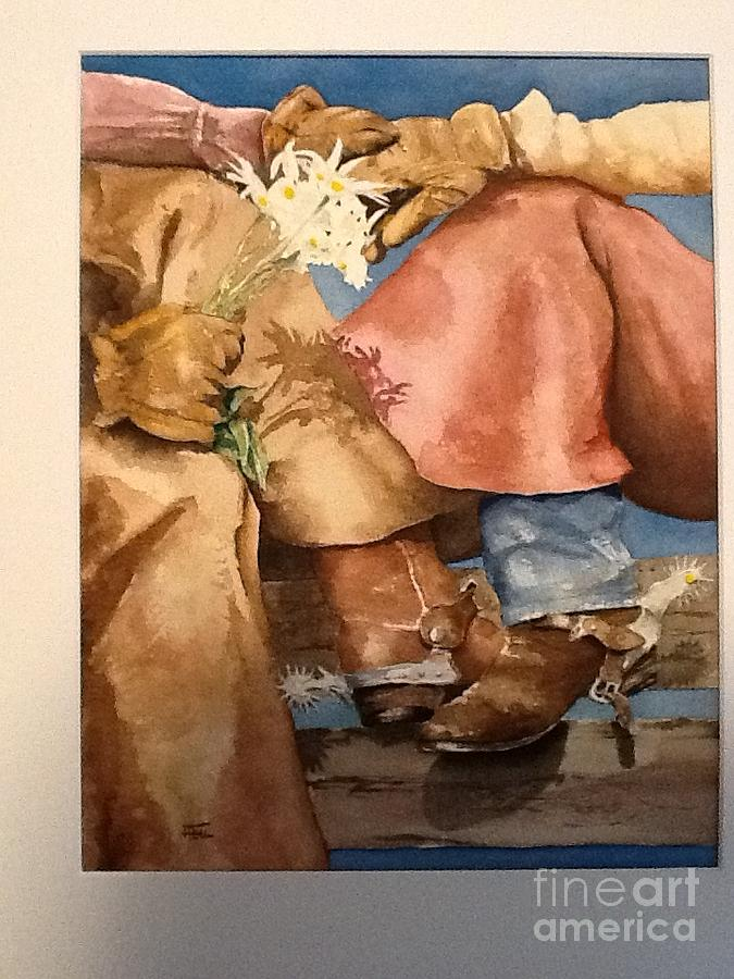 Spring Roundup Painting by Harold Teel