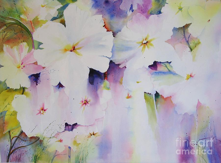 Watercolour Painting - Spring Spirit by John Nussbaum