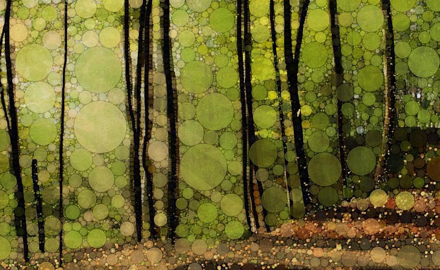 Spring Trees Digital Art by Steven Boland