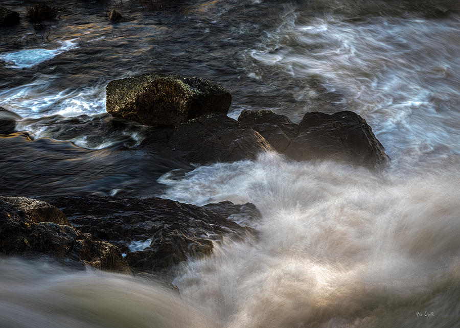 River Photograph - Spring Thaw II by Bob Orsillo
