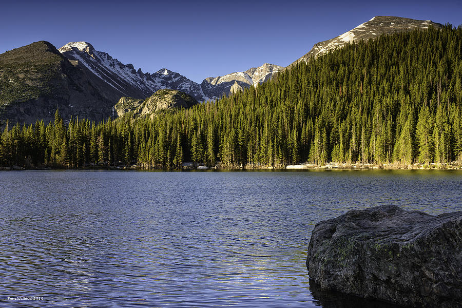 Rockies Photograph - Spring Time At Bear Lake by Tom Wilbert