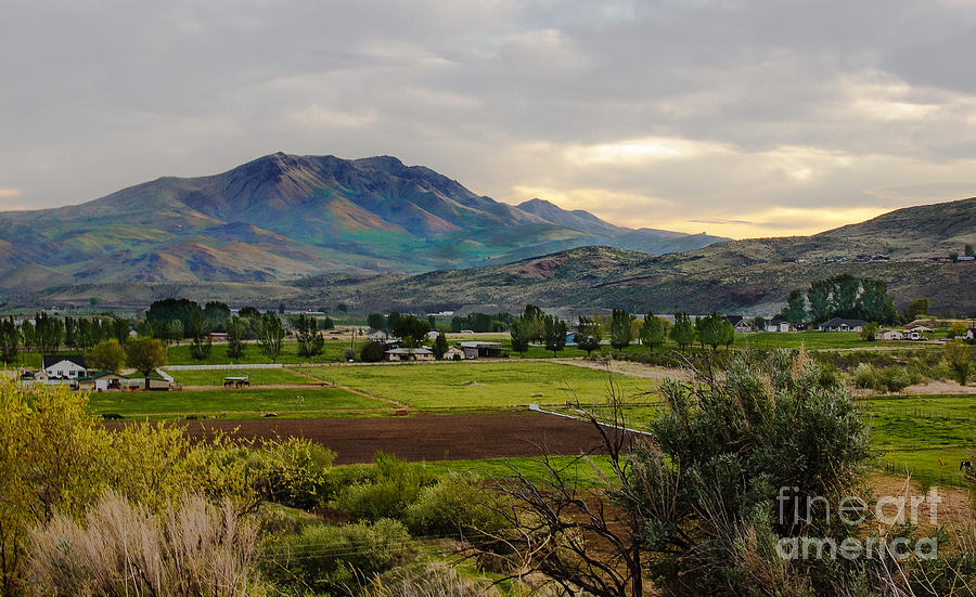 Gem County Photograph - Spring Time In The Valley by Robert Bales