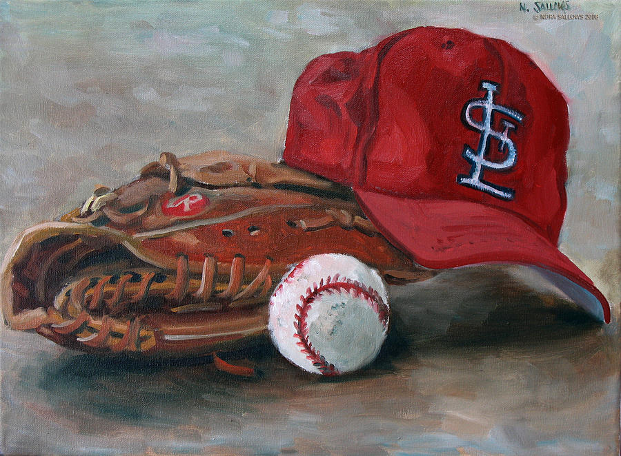 St. Louis Painting - Spring Training  by Nora Sallows