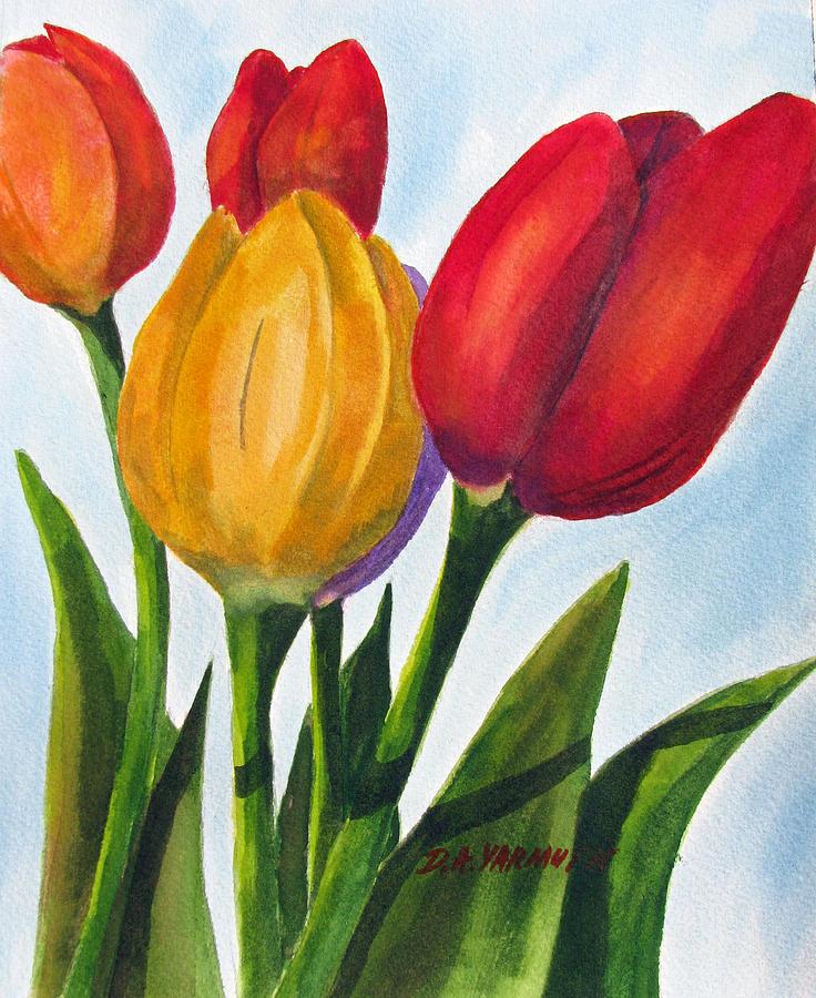 Spring Tulips by Dale Yarmuth