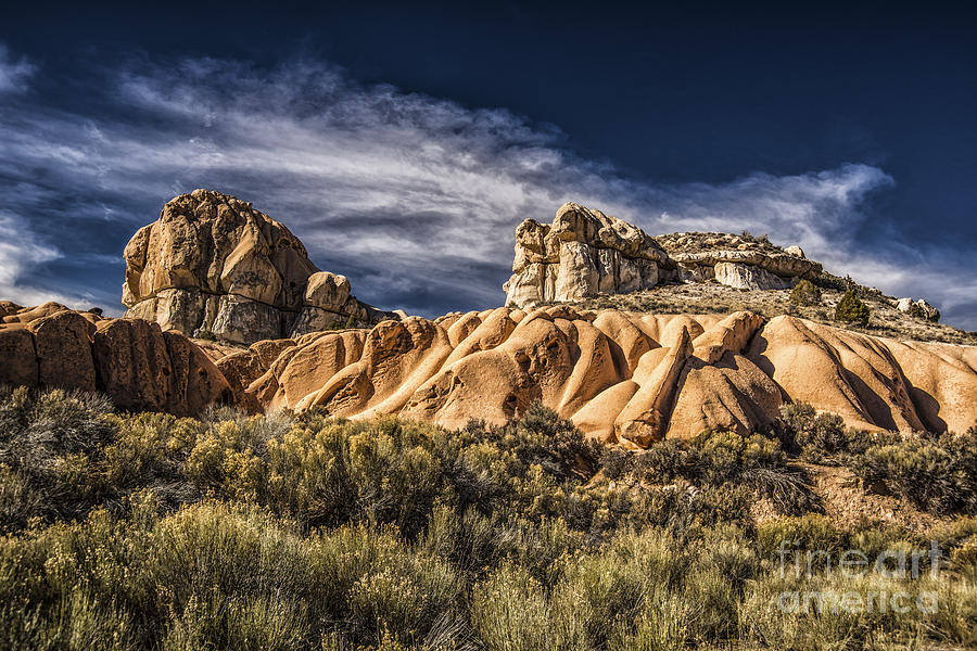 Nevada Photograph - Spring Valley State Park by Janis Knight