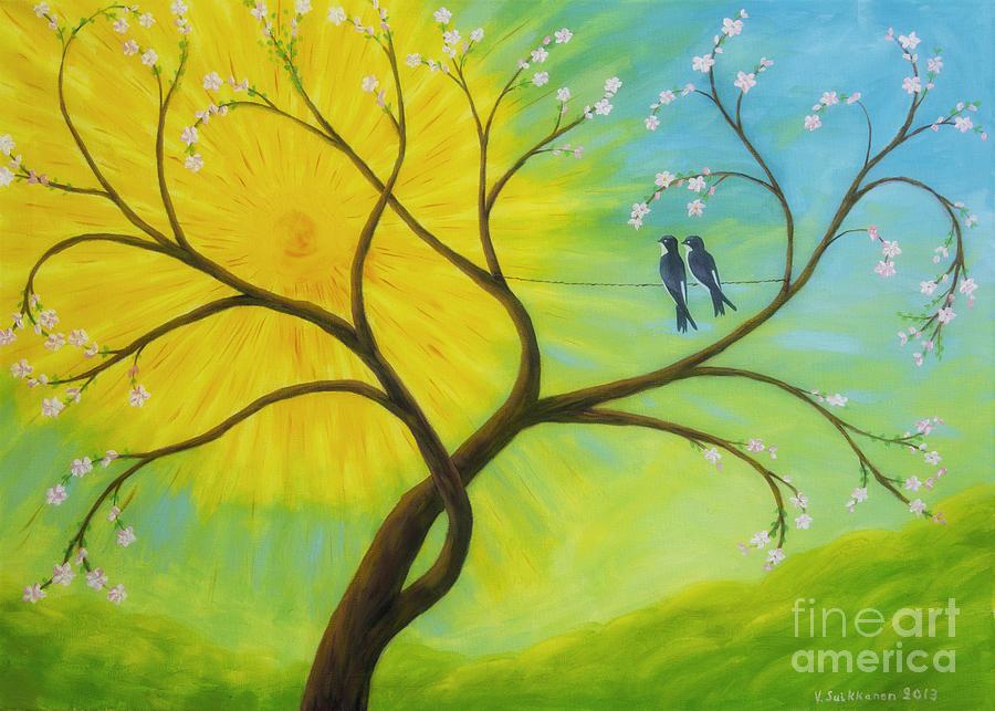 Artist Painting - Spring by Veikko Suikkanen