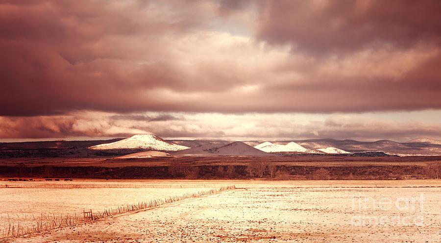 Fine Art Photograph - Springerville Arizona View by Donna Greene