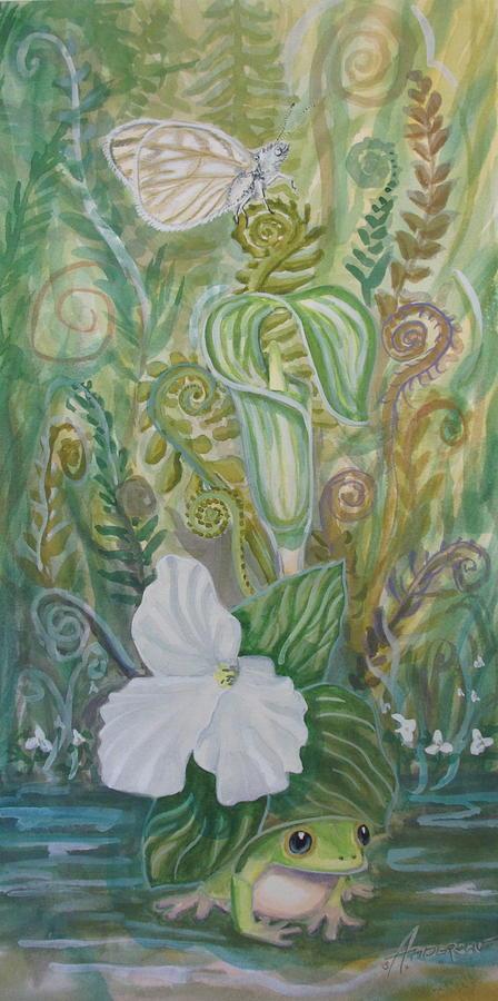Butterfly Painting - Springs Awakening 2 by Sherri Anderson