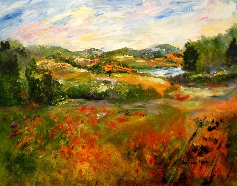 Impressionist Painting - Springtime Impressions by Barbara Pirkle