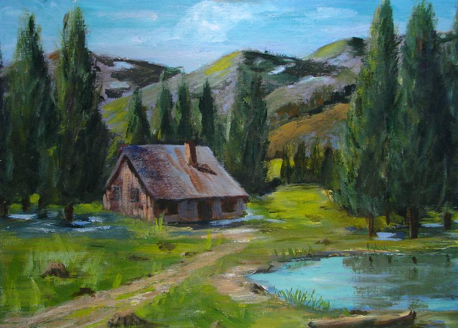 Springtime In The High Country Painting by Judi Pence