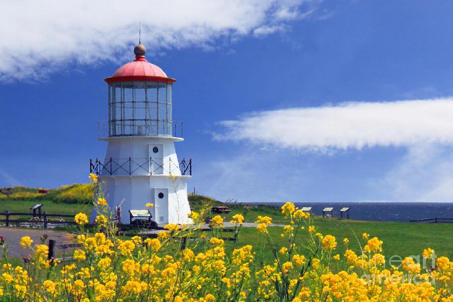 Lighthouse Photograph - Springtime Lighthouse by James Eddy