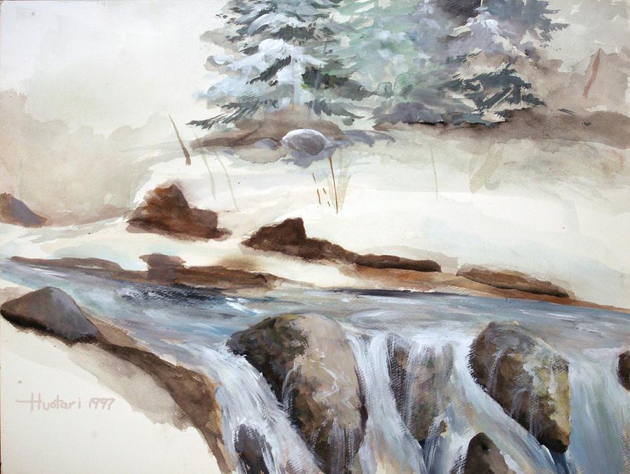 Landscape Painting - Springtime by Rick Huotari