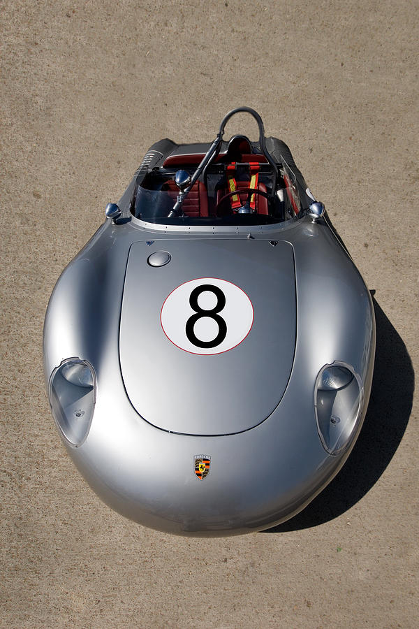 Automotive Photograph - Spyder Race Car by Peter Tellone