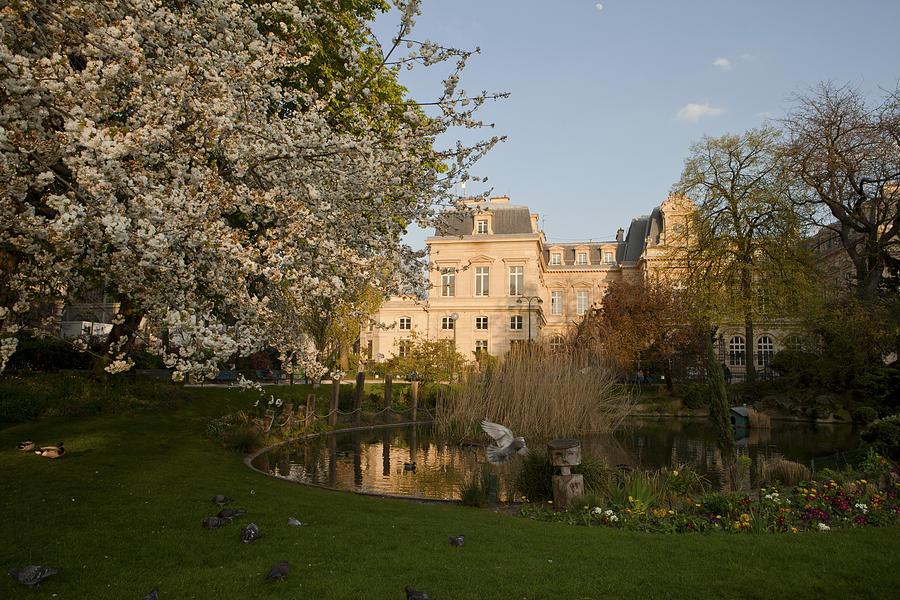 Paris Photograph - Square Du Temple by Art Ferrier