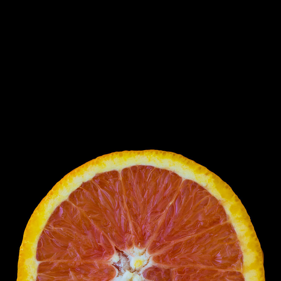 Square Orange Wheel Photograph