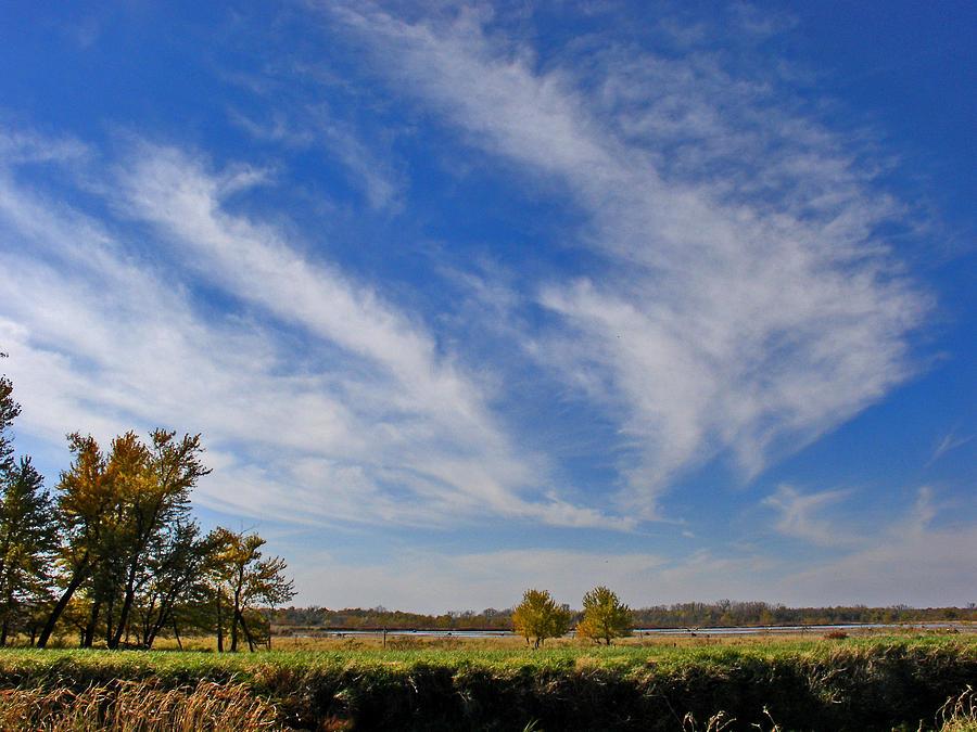 Landscape Photograph - Squaw Creek Landscape by Steve Karol
