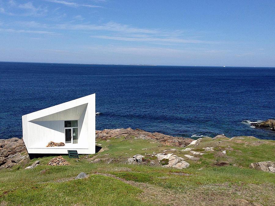 Squish Studio Tilting Fogo Island Newfoundland by Lisa Phillips