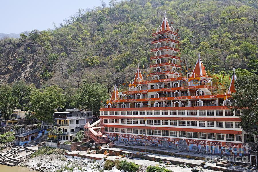 Sri Trayambakeswar Temple In Rishikesh India Photograph By