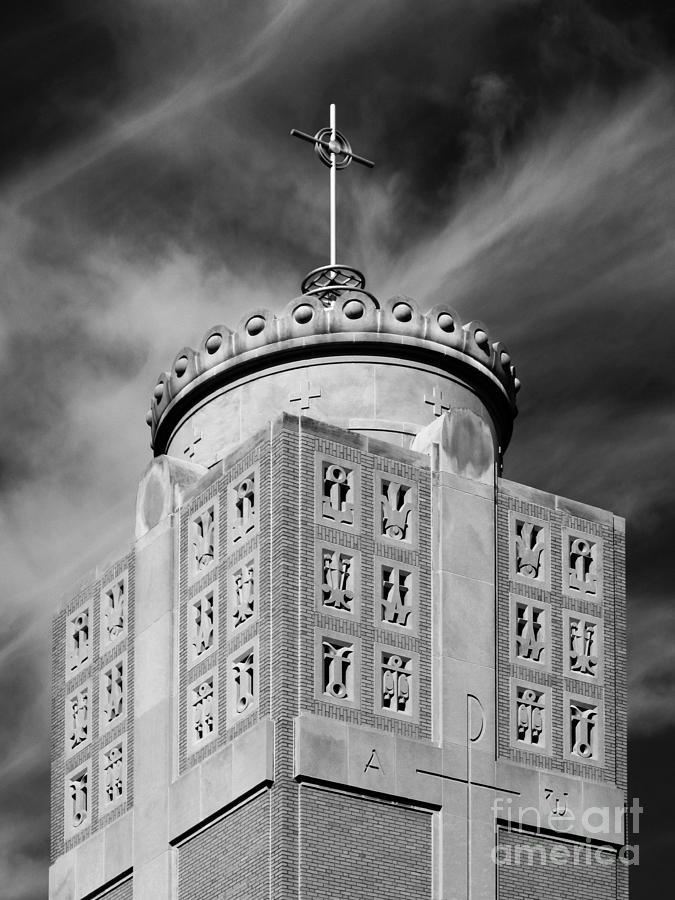 Christ The King Chapel Photograph - St. Ambrose University Christ The King Chapel by University Icons