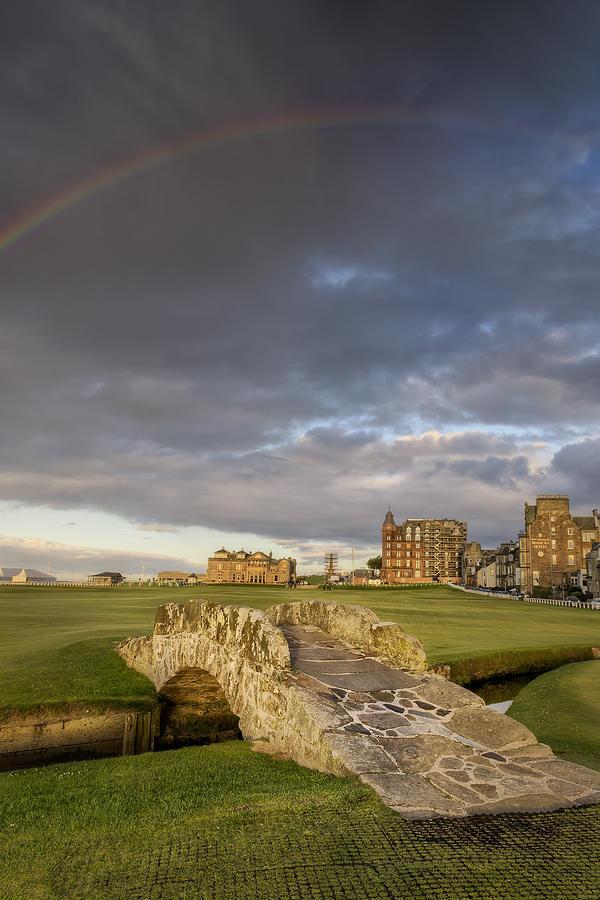 Golf Photograph - St Andrews Bridge by Chris Frost