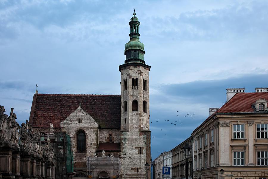 Saint Photograph - St. Andrews Church In Krakow At Dusk by Artur Bogacki