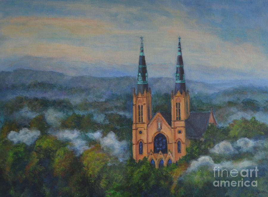 Landscape Painting - St. Andrews by Jana Baker