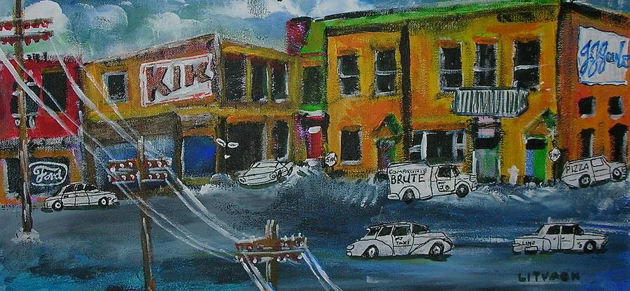 Quebec Painting - St. Annes De Bellevue by Michael Litvack