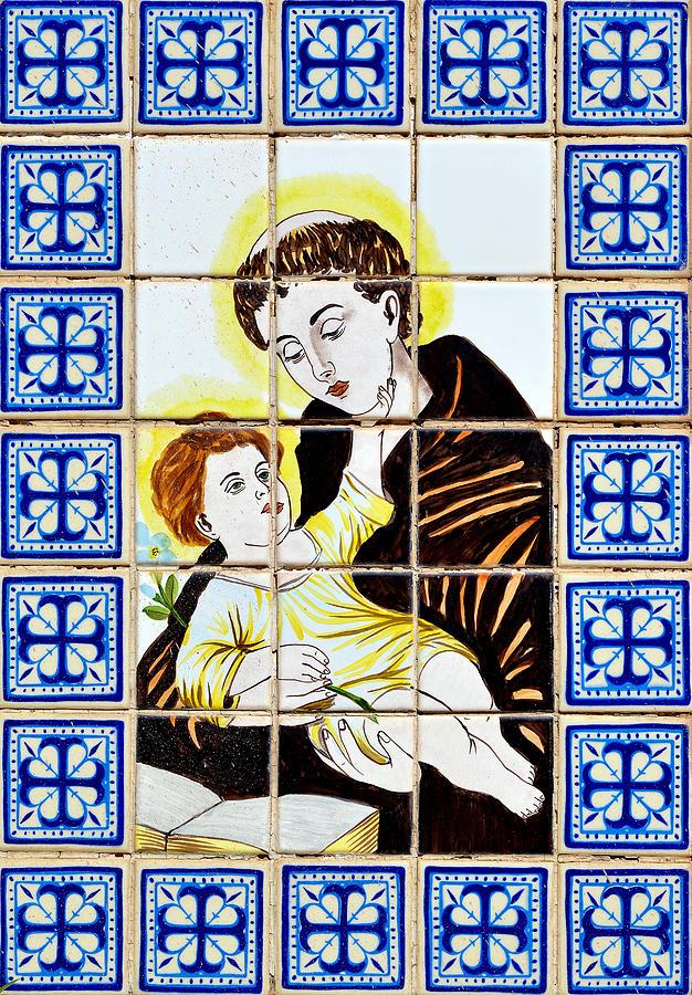 St Anthony Of Padua Photograph - St Anthony Of Padua by Christine Till