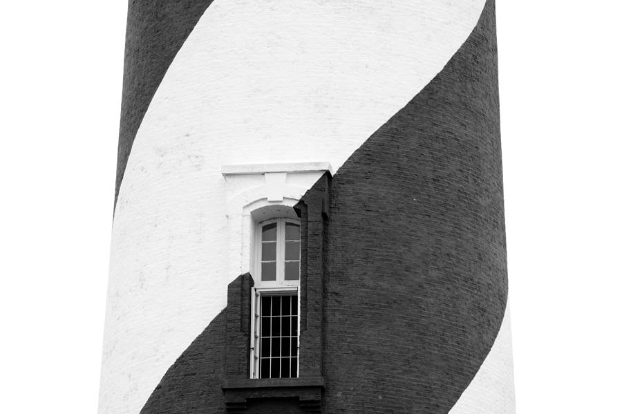 St Augustine Lighthouse BW by Keith Swango