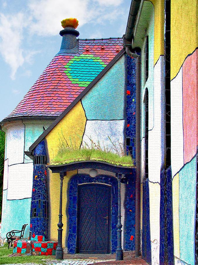 Church Photograph - St Barbara Church - Baernbach Austria by Christine Till