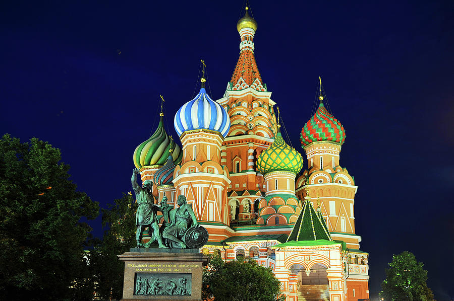 St. Basil Cathedral Photograph by Loveguli