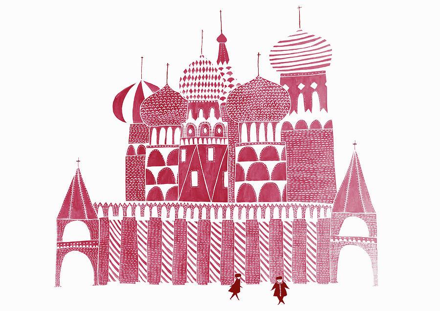 St. BasilÕs Cathedral Digital Art by Alice Potter